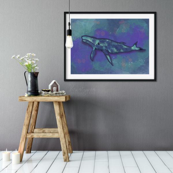 Whale mockup