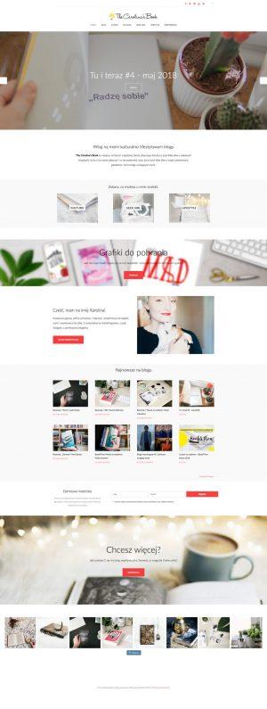 Kreatywna Freelancerka, stworzenie strony www, WordPress